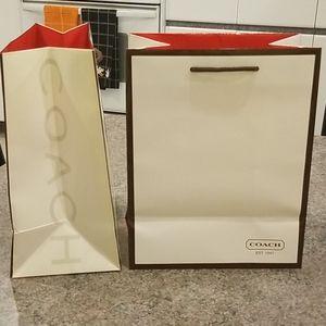 Coach Shopping Bags